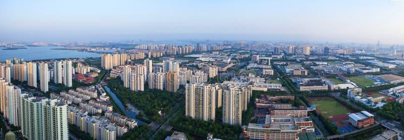 Suzhou, suzhouindustrieterrein royalty-vrije stock afbeelding