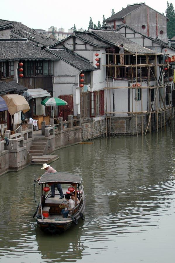Suzhou waterway stock photography