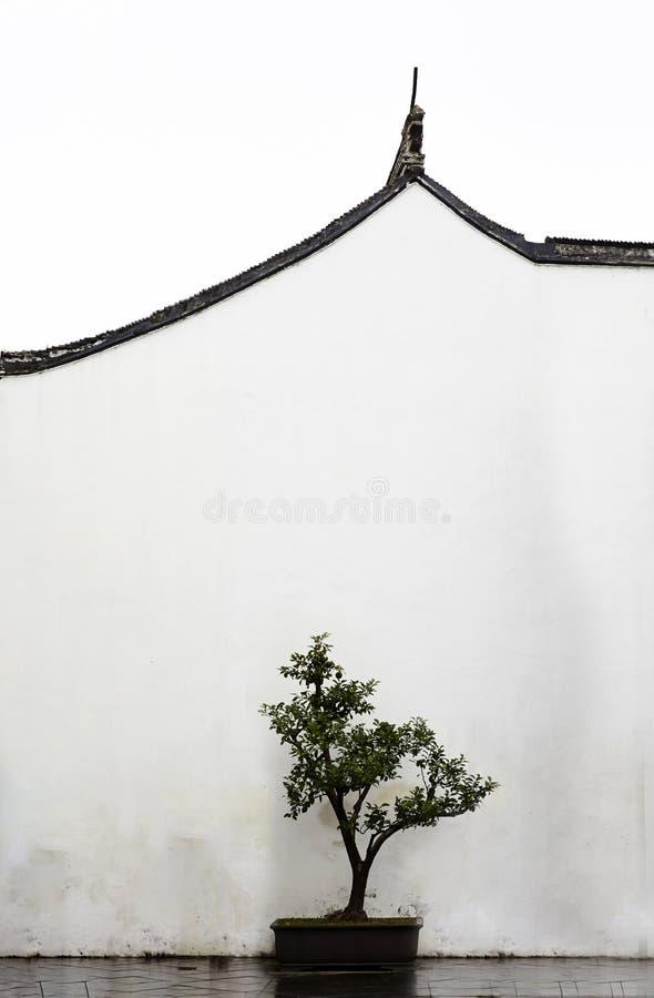 Suzhoumuseum, het schilderen van China stijlfoto stock afbeeldingen