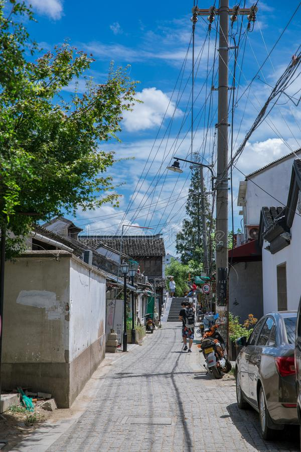 Suzhoustad van Jiangsu van China royalty-vrije stock foto
