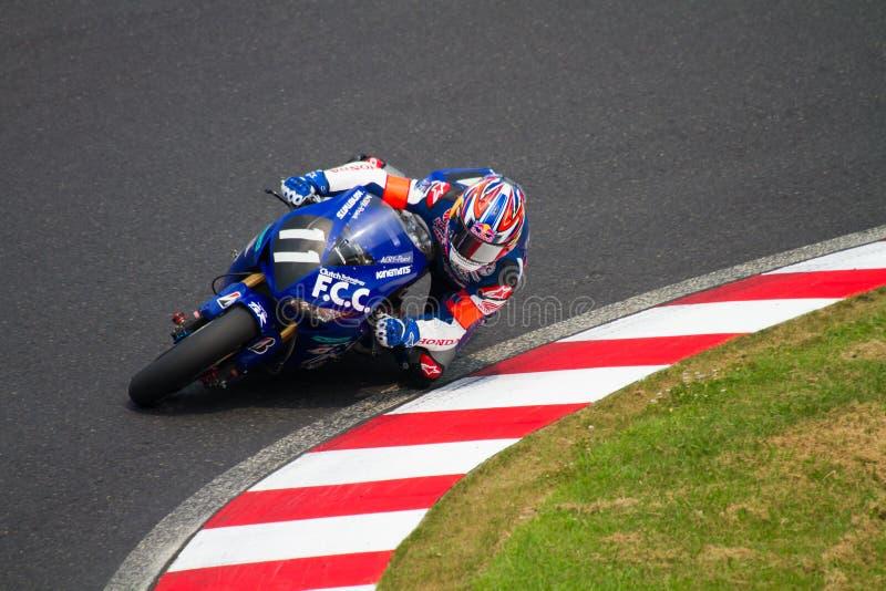 SUZUKA, JAPAN 29 Juli. Ruiter van F.C.C. TSR Honda royalty-vrije stock foto's
