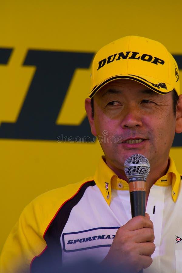 SUZUKA, JAPAN - 29. Juli: während der Talkshow bei 2012 stockfoto