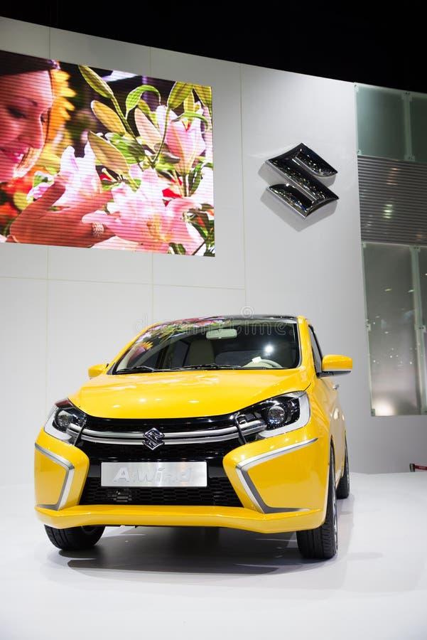 Suzuki en vind på skärm arkivfoto