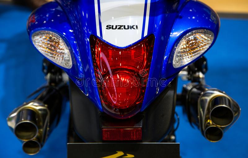 Suzuki GSX 1300R Hayabusa tail light royalty free stock photography