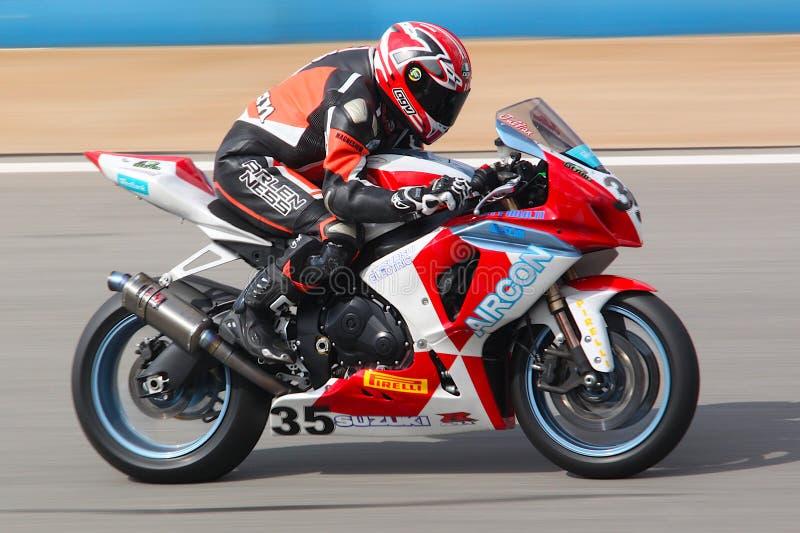 Suzuki Racing Bike Kyalami stock photos