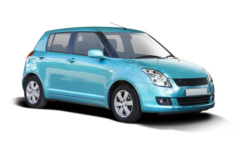 Suzuki Swift blu immagine stock