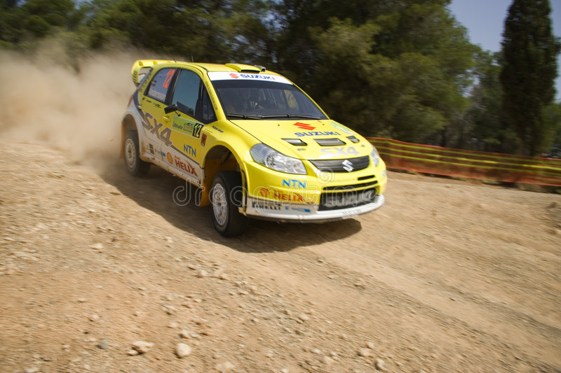 Download Suzuki SX4 WRC 2008 editorial image. Image of competition - 5308385