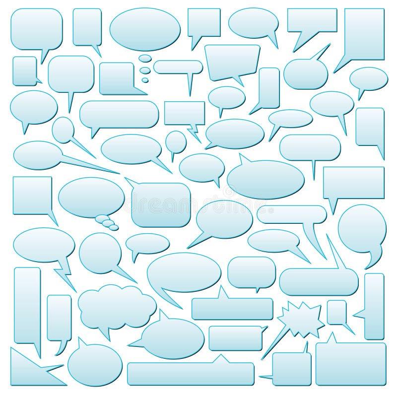 sväller dialog stock illustrationer