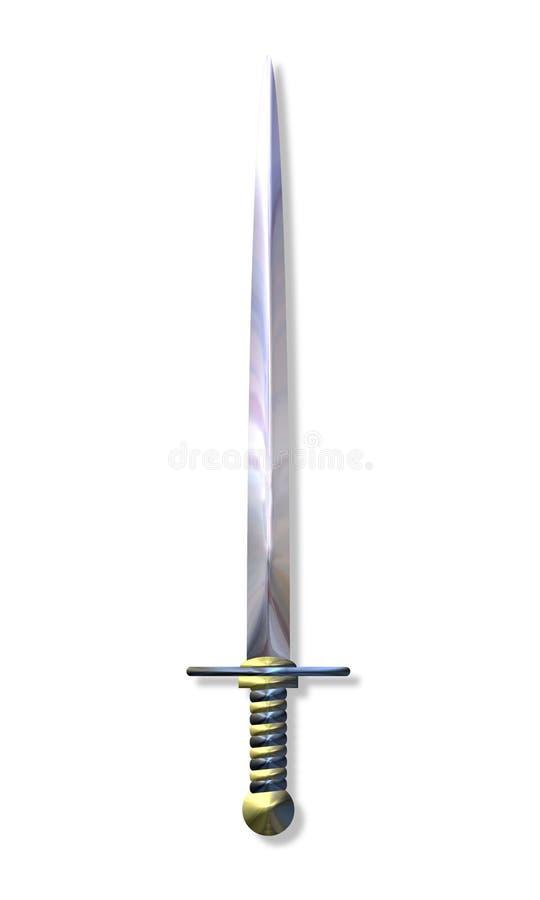 svärd stock illustrationer