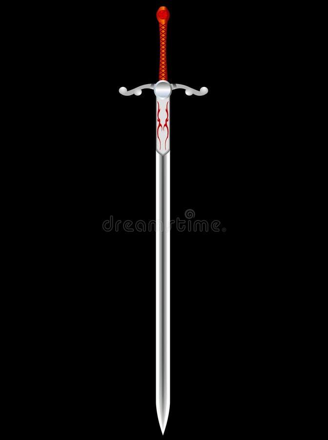 svärd royaltyfri illustrationer