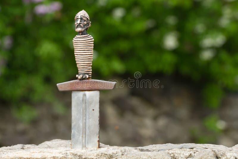 Svärd av Excalibur royaltyfri foto