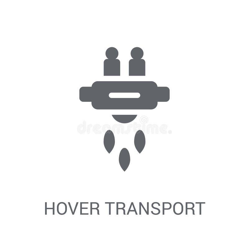Svävandetransportsymbol  royaltyfri illustrationer