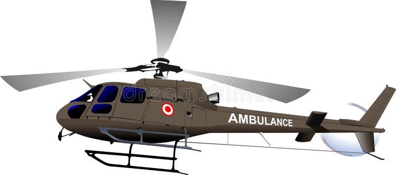 sv?rd f?r sk?ld f?r holding f?r kraft f?r ?rn f?r luftflygplanemblem milit?rt Ambulanshelikopter royaltyfri illustrationer