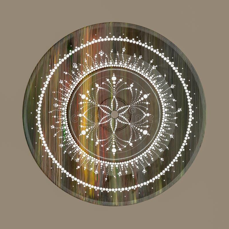 Svadhisthana den sacral chakraen arkivbild