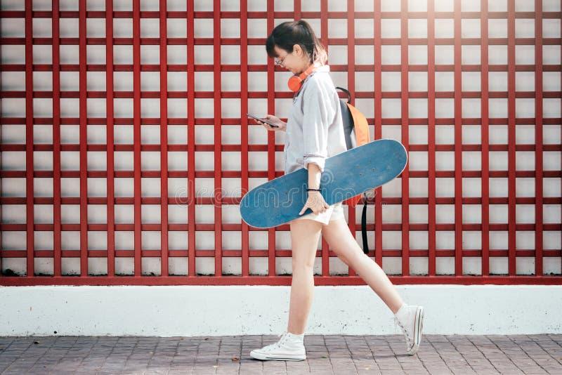 Svago di stile di vita dell'adolescente fotografie stock libere da diritti