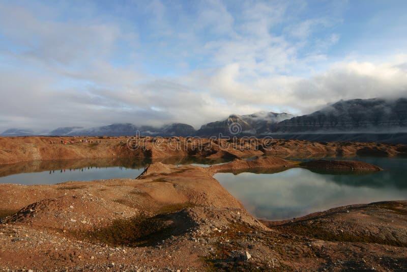 Svalbard fotografie stock