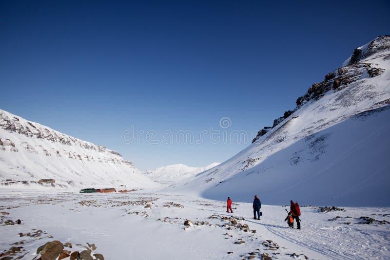 Svalbard stock fotografie