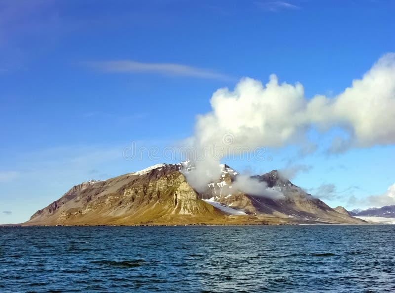 Svalbard eiland stock foto's