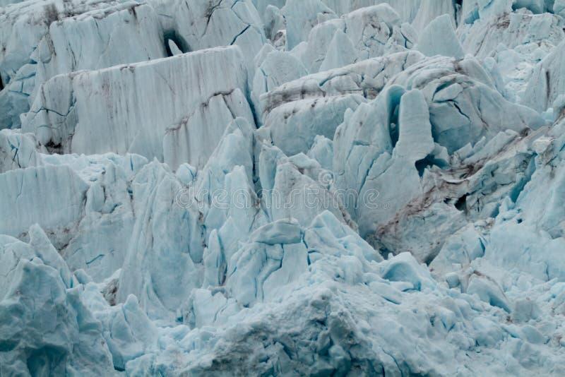 Svalbard glaciär royaltyfri bild