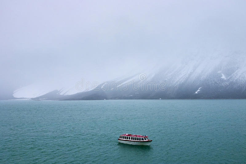 Svalbard island. Photo of svalbard island in norway in summer time royalty free stock images