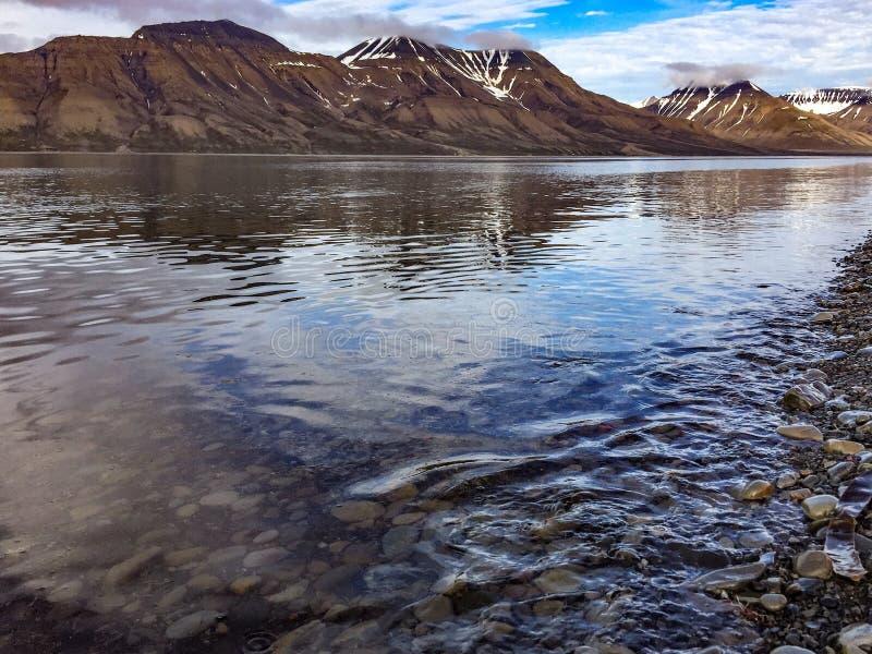 Svalbard mening royalty-vrije stock afbeeldingen