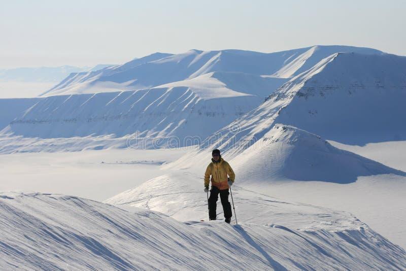 Svalbard Noruega imagem de stock