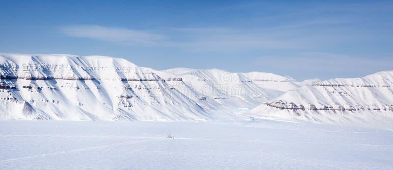 Svalbard Panorama Stock Photo