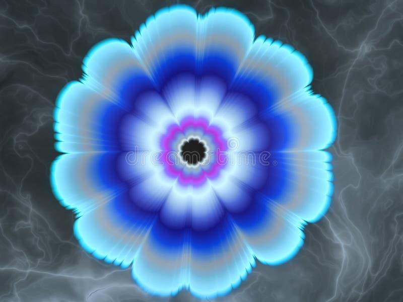 svalnande blommapassion vektor illustrationer