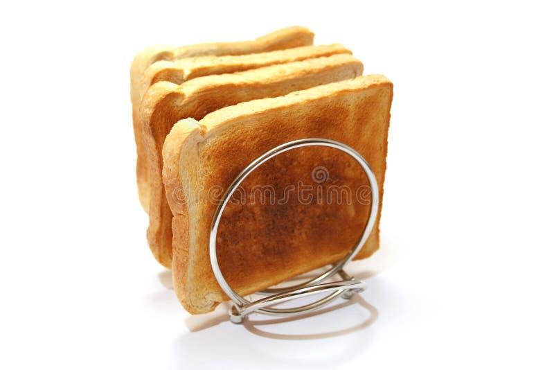 svalnande rostat bröd arkivbild
