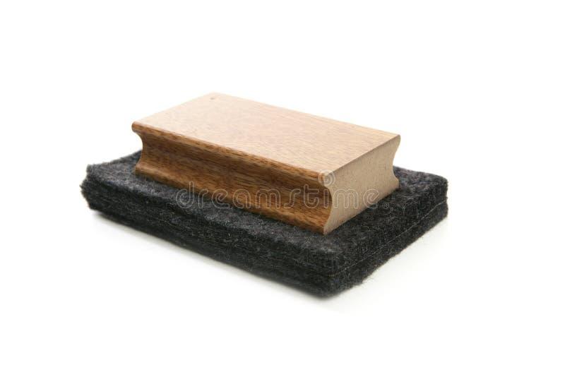 svamp för rengöringsmedel för tavla för blackboardkrita royaltyfria foton