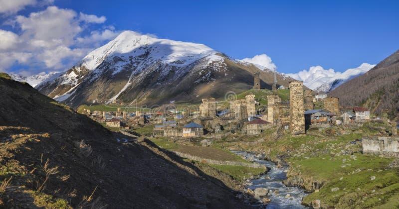 Svaneti photographie stock libre de droits