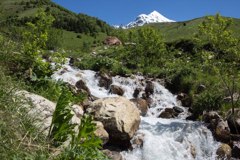Svaneti góry w Gruzja zdjęcie stock