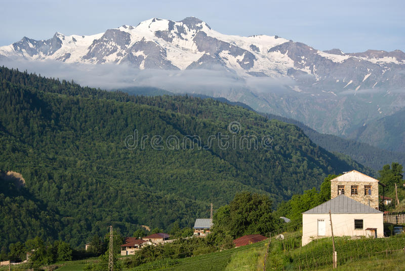 Download Svaneti, Georgia stockfoto. Bild von umgebung, festung - 27725812