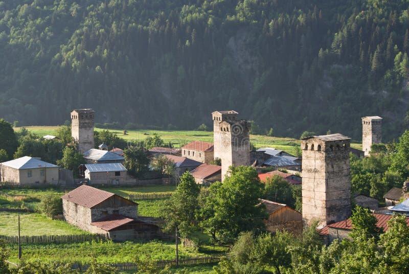 Download Svaneti, Georgia stockfoto. Bild von historisch, haus - 27725828