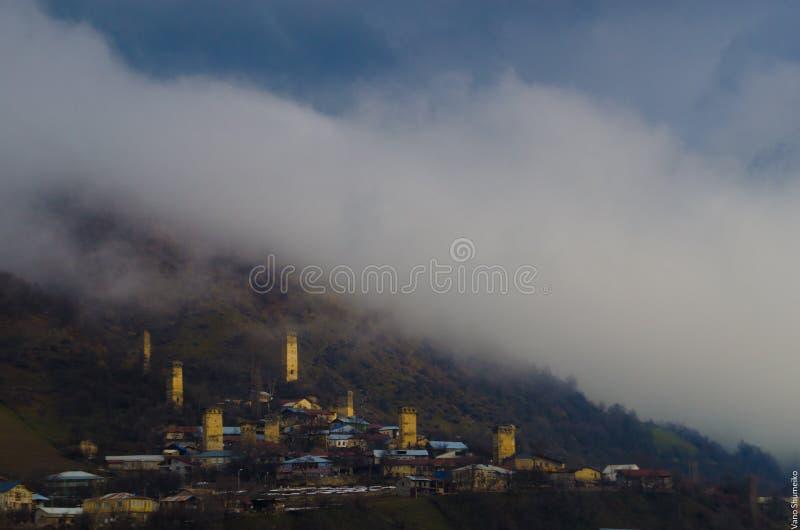 Svaneti Georgia lizenzfreies stockfoto
