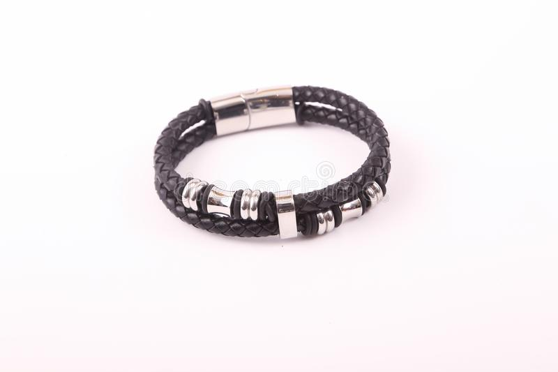 svart armband royaltyfria bilder