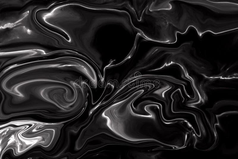 Svart bakgrund för marmormodelltextur arkivfoton