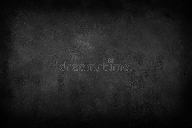 Svart bakgrund, mörker kritiserar textur arkivfoton