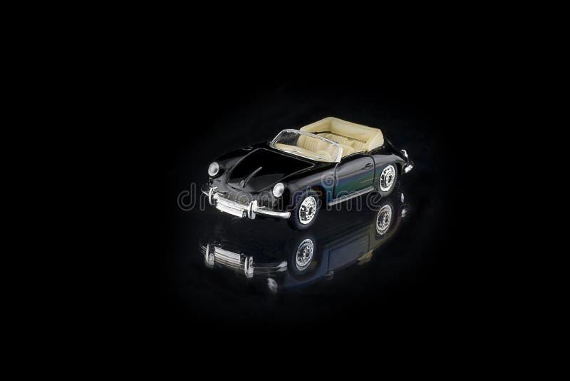 svart bilminiature arkivfoton