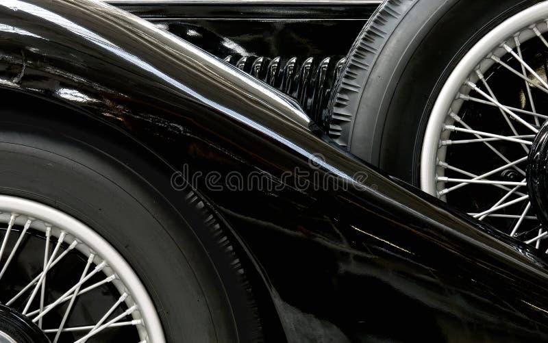 svart biltappning arkivfoton