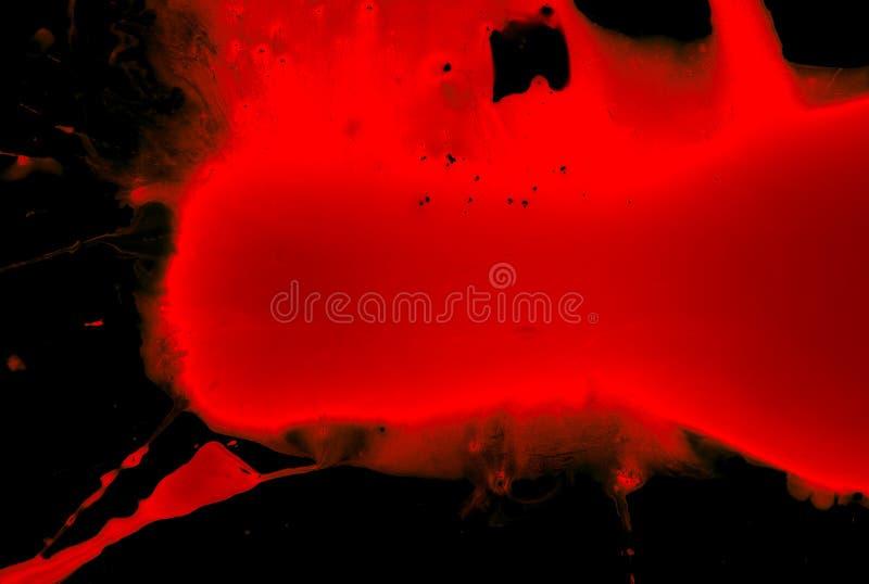 svart blod royaltyfri fotografi