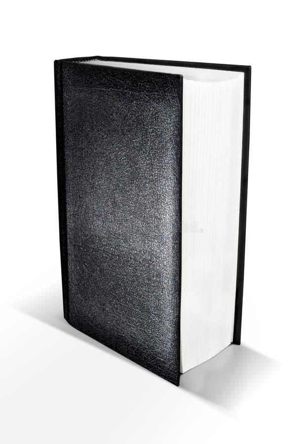 svart bok royaltyfria bilder