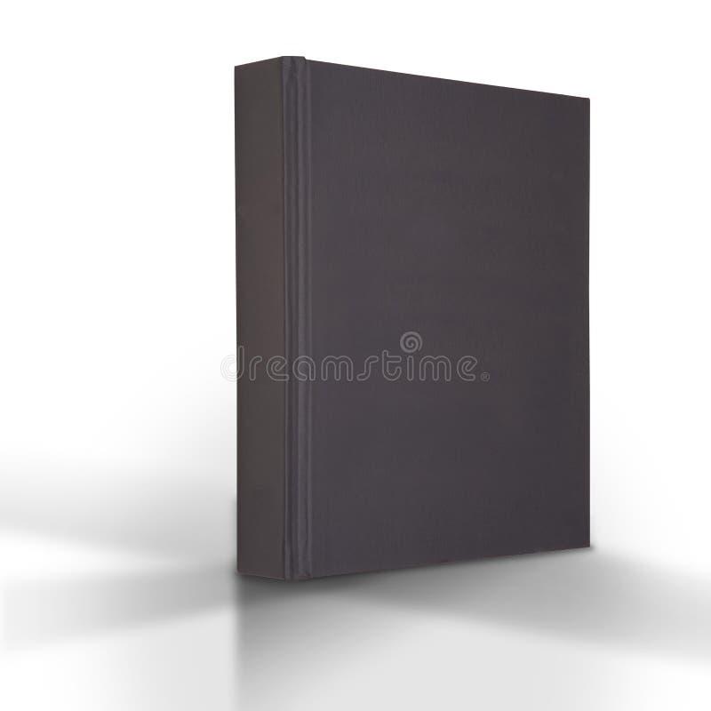 svart bok arkivbild