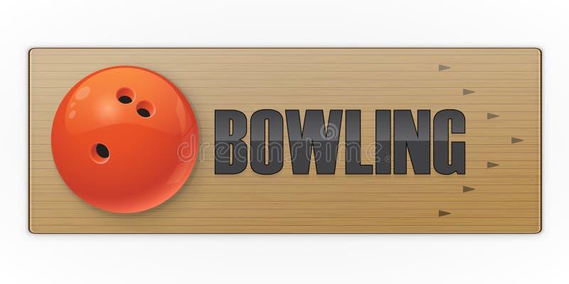 Svart boll på gränden för att bowla leken fotografering för bildbyråer
