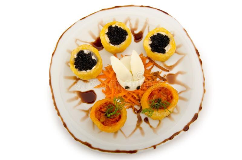 svart brödkaviar royaltyfri bild