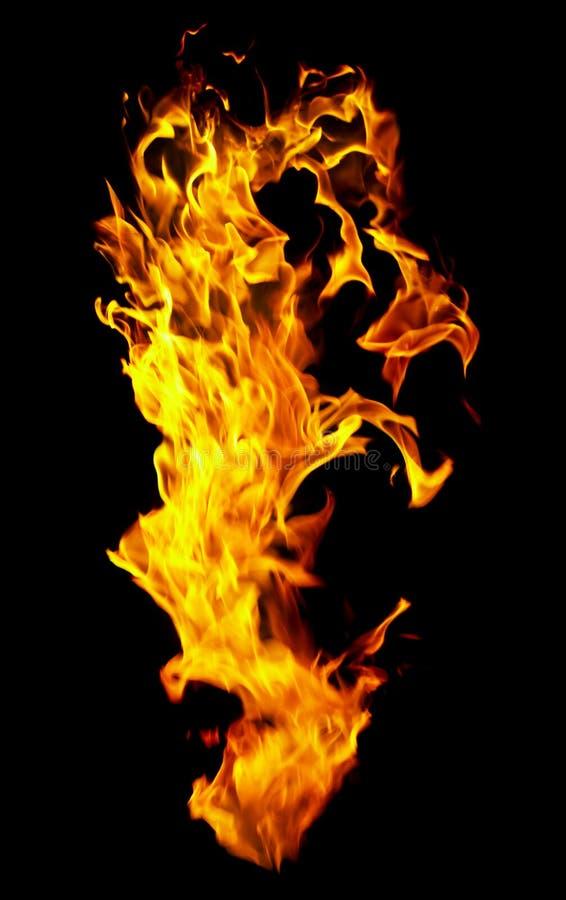 svart brandfoto för bakgrund arkivbilder