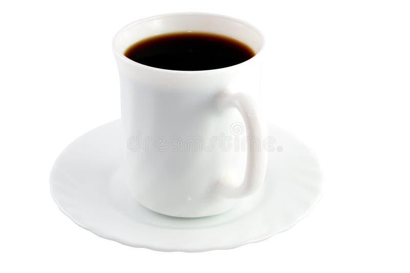 svart coffekopp royaltyfria bilder