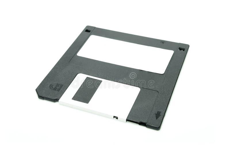 svart diskettfloppy royaltyfri foto
