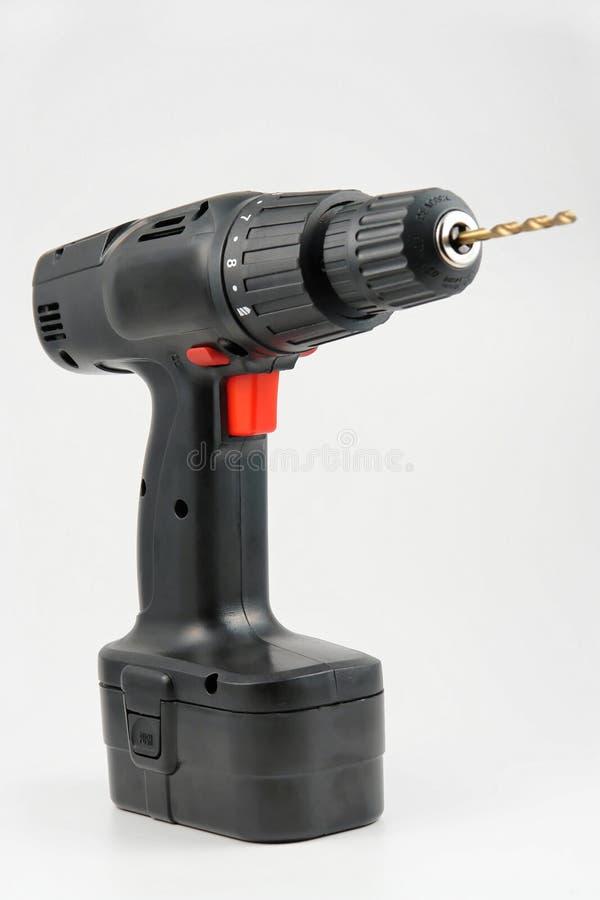 svart drill royaltyfria foton