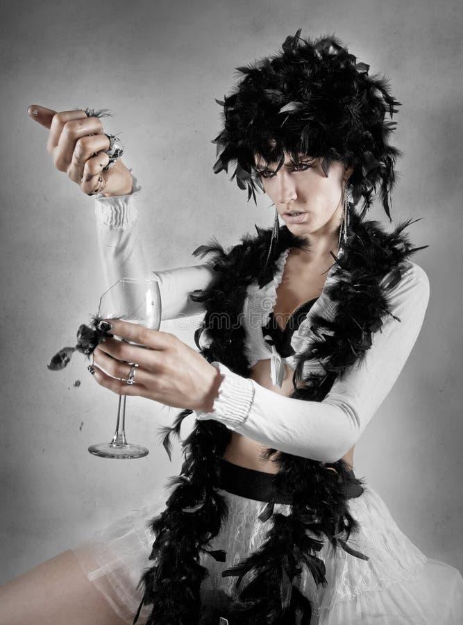 svart drinkinspiration fotografering för bildbyråer